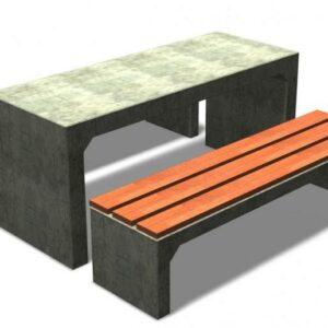 beton picknick set